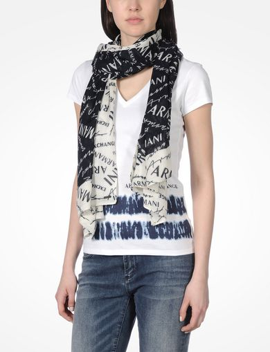 All OVER LOGO SCARF