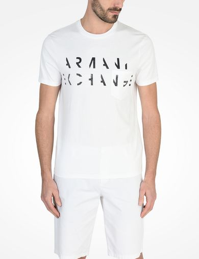ハーフロゴ ポケット付きTシャツ