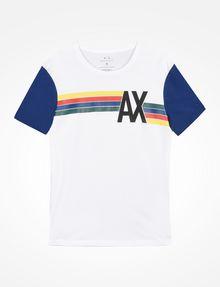Exchange Multi T Striped Colored Armani Shirt Logo 8qcd68z