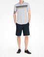 ARMANI EXCHANGE SHORT SLEEVE STRIPED SHIRT Short-Sleeved Shirt Man a