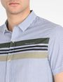 ARMANI EXCHANGE SHORT SLEEVE STRIPED SHIRT Short-Sleeved Shirt Man e