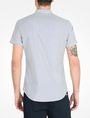 ARMANI EXCHANGE SHORT SLEEVE STRIPED SHIRT Short-Sleeved Shirt Man r