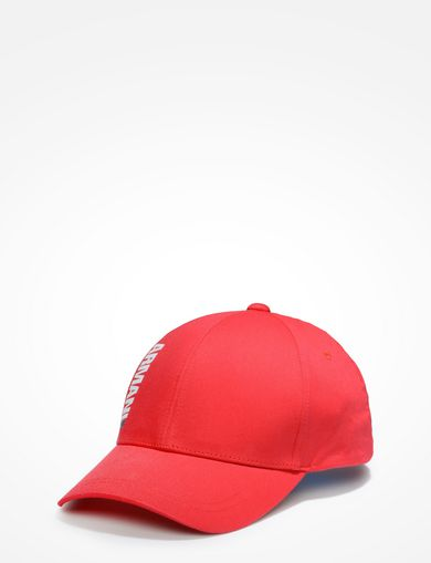 HIGH-SHINE PRINT LOGO CAP