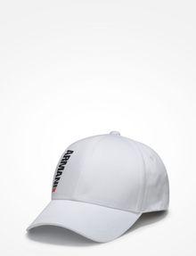 ARMANI EXCHANGE HIGH-SHINE PRINT LOGO HAT Hat Man f