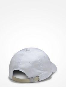 ARMANI EXCHANGE HIGH-SHINE PRINT LOGO CAP Hat U r