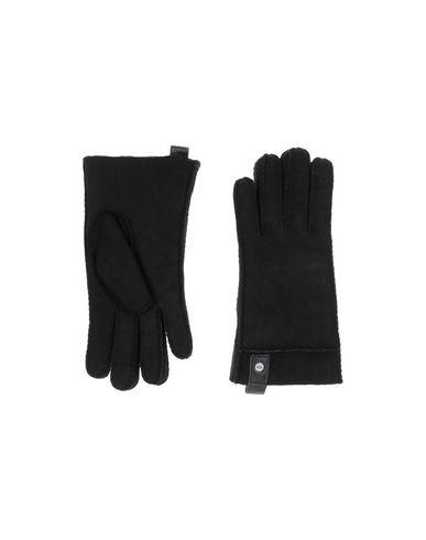 UGG AUSTRALIA Herren Handschuhe Schwarz Größe L 100% Schaffell