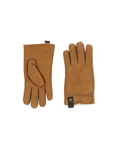 UGG AUSTRALIA Herren Handschuhe Kamel Größe M 100% Schaffell