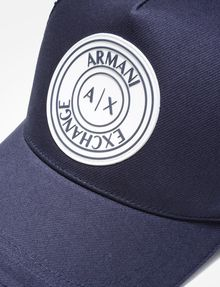 ARMANI EXCHANGE AX CIRCLE LOGO HAT Hat U d