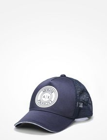 ARMANI EXCHANGE AX CIRCLE LOGO HAT Hat U f