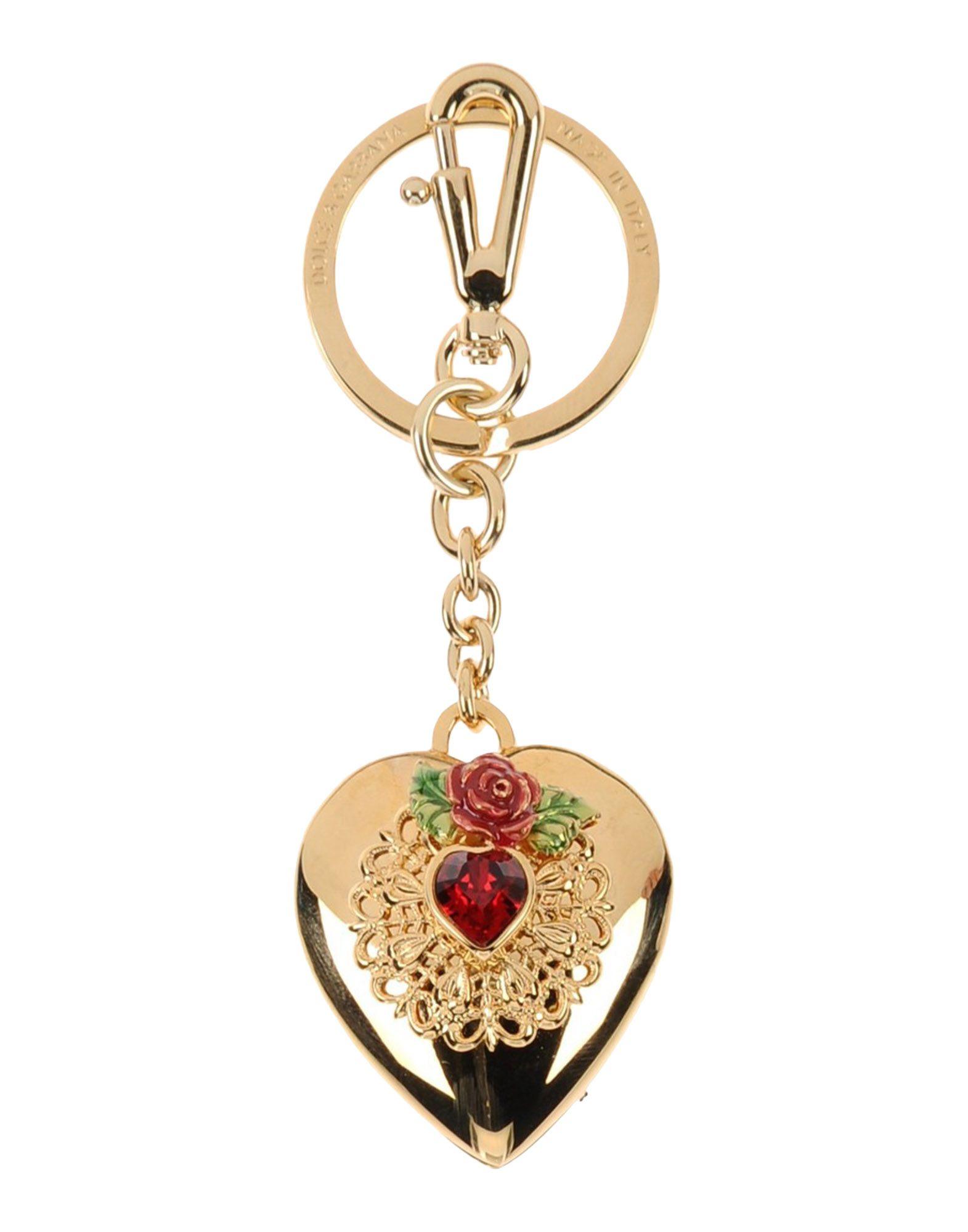DOLCE & GABBANA Брелок для ключей брелок для ключей сердечко русские подарки брелок для ключей сердечко