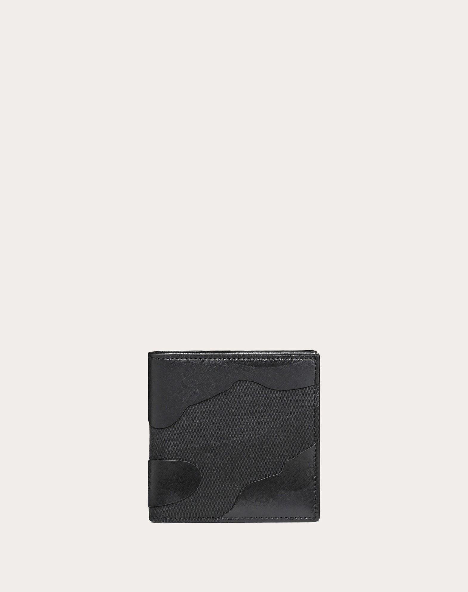 Portemonnaie Camouflage Noir