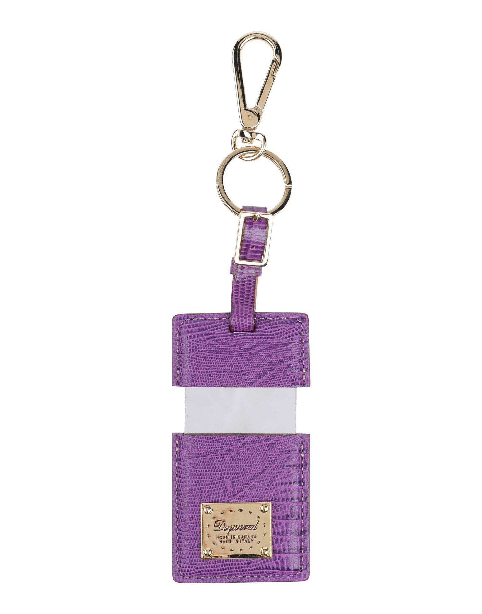 DSQUARED2 Damen Schlüsselanhänger1 violet