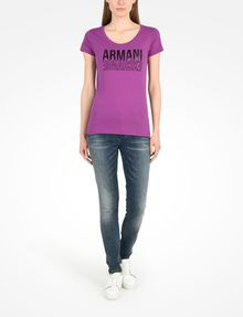 ARMANI EXCHANGE Logo-T-Shirt [*** pickupInStoreShipping_info ***] a