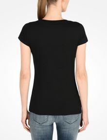 ARMANI EXCHANGE LIVED IN LOGO SCOOP NECK TEE Logo-T-Shirt Damen r