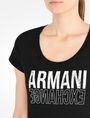 ARMANI EXCHANGE LIVED IN LOGO SCOOP NECK TEE Logo-T-Shirt Damen e