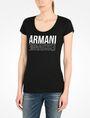 ARMANI EXCHANGE LIVED IN LOGO SCOOP NECK TEE Logo-T-Shirt Damen f