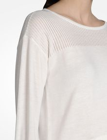 ARMANI EXCHANGE DOUBLE LAYER CREW NECK SWEATER Pullover D e