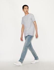 ARMANI EXCHANGE PIMA CREWNECK T-SHIRT Pima-T-Shirt Herren d