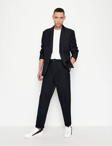 ARMANI EXCHANGE PIMA CREWNECK TEE Short-Sleeved Tee Man d