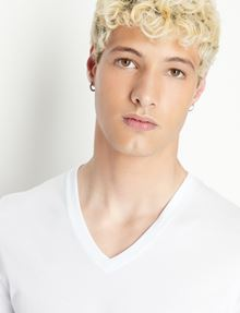 ARMANI EXCHANGE PIMA V-NECK TEE Pima Tee Man b