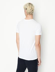 ARMANI EXCHANGE PIMA V-NECK TEE Pima Tee Man e