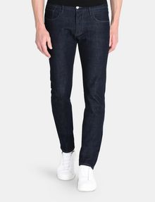 ARMANI EXCHANGE DARK RINSE SLIM FIT JEANS SLIM FIT JEANS Man f