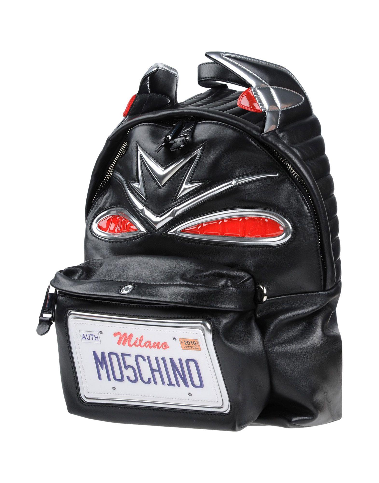 цена MOSCHINO COUTURE Рюкзаки и сумки на пояс онлайн в 2017 году