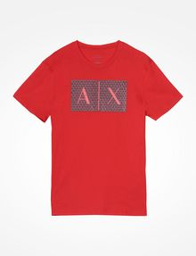 ARMANI EXCHANGE TRIANGLE LOGO T-SHIRT Logo T-shirt Man b