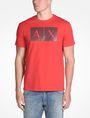 ARMANI EXCHANGE TRIANGLE LOGO T-SHIRT Logo T-shirt Man f