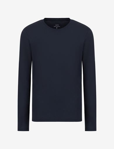 LONG-SLEEVE CREWNECK PIMA TEE