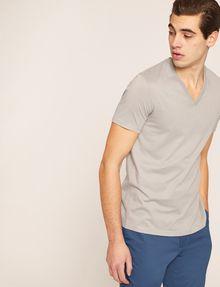 ARMANI EXCHANGE T-SHIRT AUS PIMA-BAUMWOLLE MIT V-AUSSCHNITT Basic-T-Shirt [*** pickupInStoreShippingNotGuaranteed_info ***] a