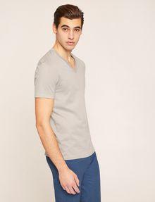 ARMANI EXCHANGE T-SHIRT AUS PIMA-BAUMWOLLE MIT V-AUSSCHNITT Basic-T-Shirt [*** pickupInStoreShippingNotGuaranteed_info ***] f
