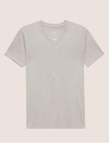 ARMANI EXCHANGE T-SHIRT AUS PIMA-BAUMWOLLE MIT V-AUSSCHNITT Basic-T-Shirt [*** pickupInStoreShippingNotGuaranteed_info ***] r
