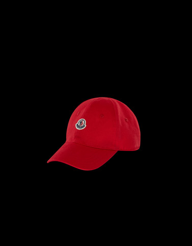 BASEBALL HAT Red Junior 8-10 Years - Girl Woman