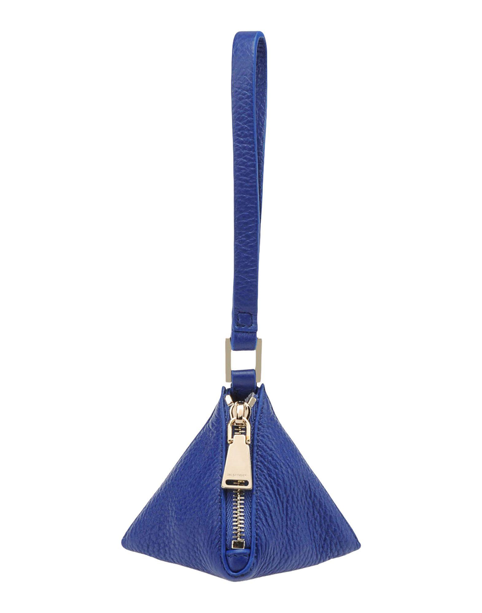 JIL SANDER Damen Portemonnaie Farbe Blau Größe 1
