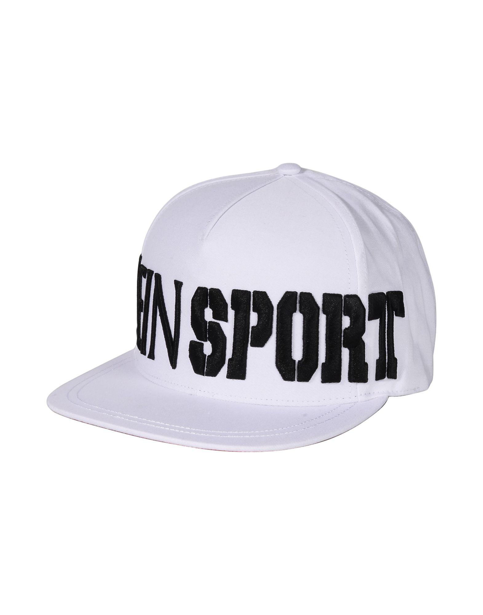 PLEIN SPORT プレイン・スポーツ メンズ 帽子 BASEBALL CAP 44 ホワイト