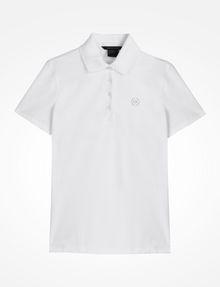 ARMANI EXCHANGE CIRCLE SIGNATURE POLO Kurzärmeliges Poloshirt Damen b