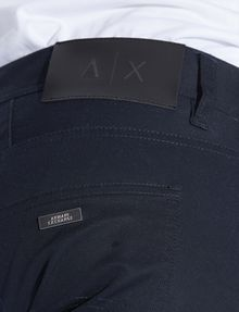 ARMANI EXCHANGE CLASSIC SLIM-FIT TWILL PANTS Dress Pant Man b