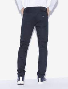 ARMANI EXCHANGE CLASSIC SLIM-FIT TWILL PANTS Dress Pant Man e