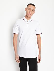 ARMANI EXCHANGE TIP COLLAR PIQUE POLO Kurzärmeliges Poloshirt Herren f