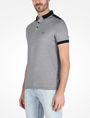 ARMANI EXCHANGE BICOLOR BLOCKED LOGO POLO SHORT SLEEVES POLO Man d