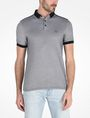 ARMANI EXCHANGE BICOLOR BLOCKED LOGO POLO SHORT SLEEVES POLO Man f