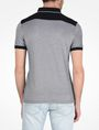 ARMANI EXCHANGE BICOLOR BLOCKED LOGO POLO SHORT SLEEVES POLO Man r