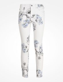 ARMANI EXCHANGE FLORAL PRINT SUPER SKINNY JEANS Skinny Fit Denim D b