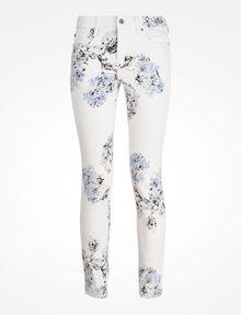 ARMANI EXCHANGE FLORAL PRINT SUPER SKINNY JEANS Skinny jeans D b