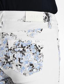 ARMANI EXCHANGE FLORAL PRINT SUPER SKINNY JEANS Skinny jeans D e