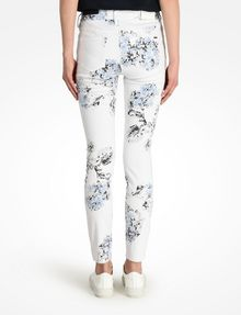 ARMANI EXCHANGE FLORAL PRINT SUPER SKINNY JEANS Skinny Fit Denim D r