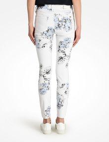 ARMANI EXCHANGE FLORAL PRINT SUPER SKINNY JEANS Skinny jeans D r