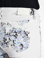 ARMANI EXCHANGE FLORAL PRINT SUPER SKINNY JEANS Skinny Fit Denim D e