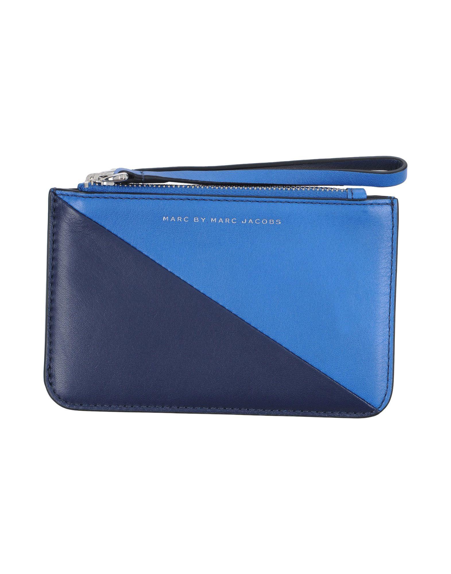 MARC BY MARC JACOBS Damen Portemonnaie Farbe Blau Größe 1